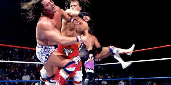 Resultado de imagem para royal rumble 1995 shawn michaels british bulldog